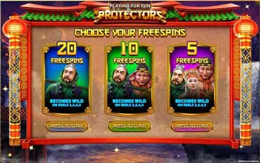 The Wild Protectors Free Spins