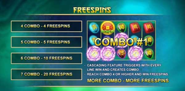 Free spin Bagua 2
