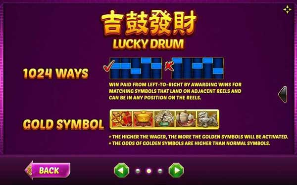 Lines Lucky Drum